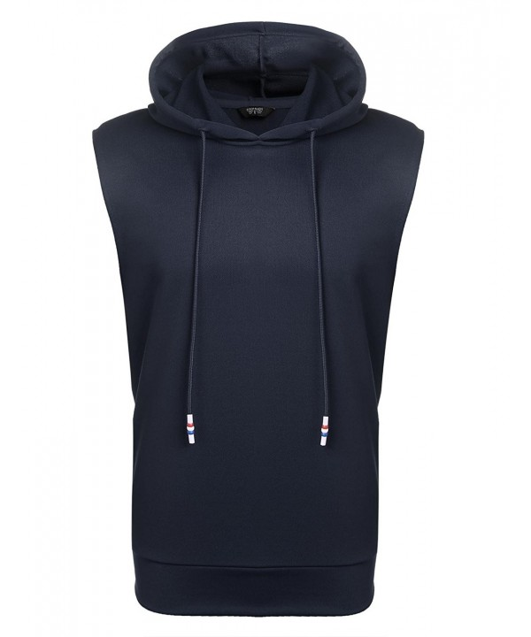 Simbama Sleeveless Hoodies Pullover Fashion