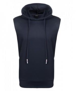 Simbama Sleeveless Hoodies Pullover Fashion