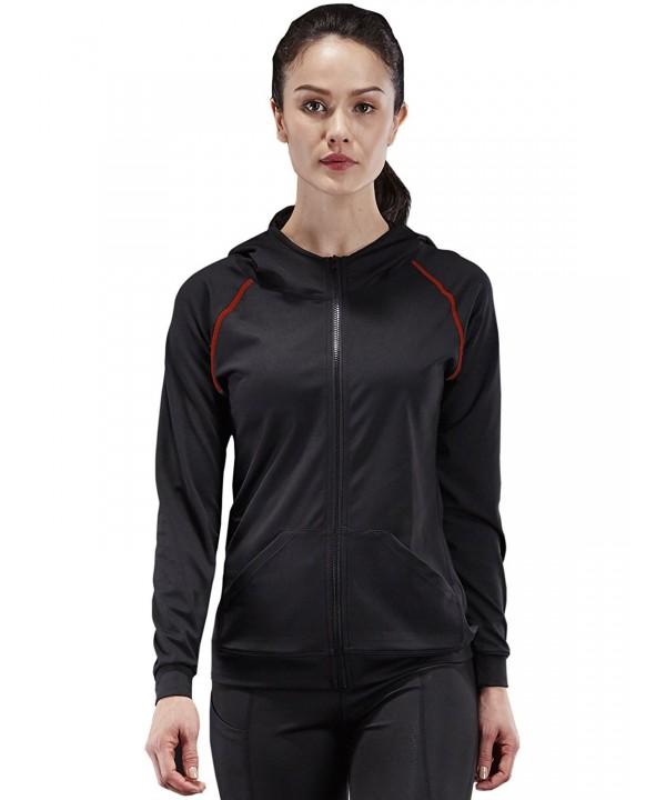 Neleus Womens Active Sports Hoodie