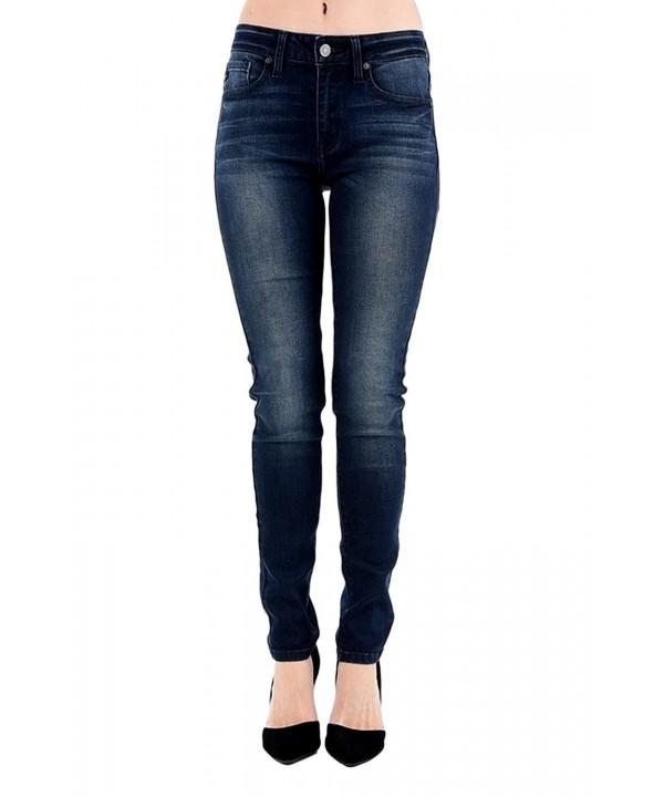 Womens Rise Skinny Jeans KC7085LN