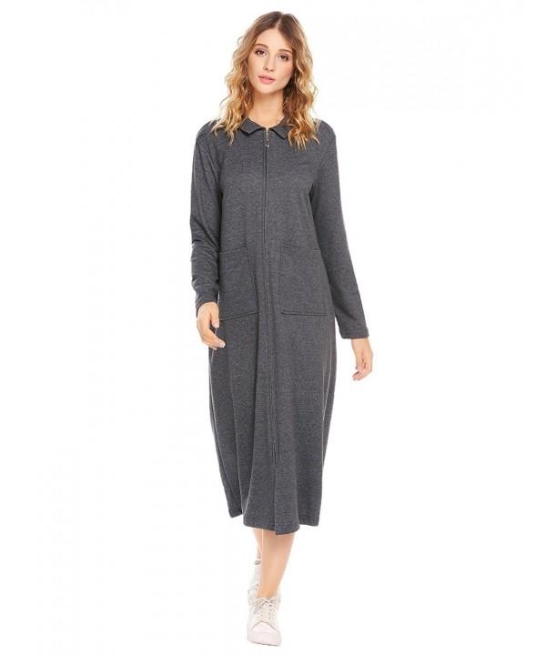 Vansop Bodycon Softest Pajamas Nightgown