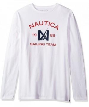Nautica Sleeve Cotton T Shirt X Large