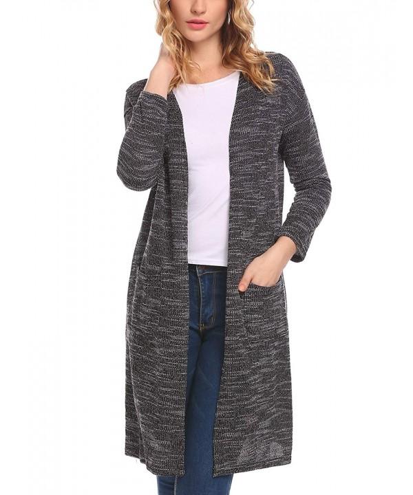 Billti Womens Cardigan Sweater Outwear