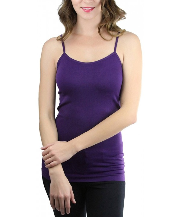 ToBeInStyle Womens Fitted Spaghetti Camisole
