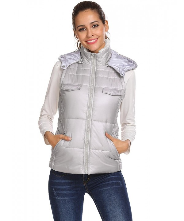 vpicuo Womens Lightweight Removable Outwear