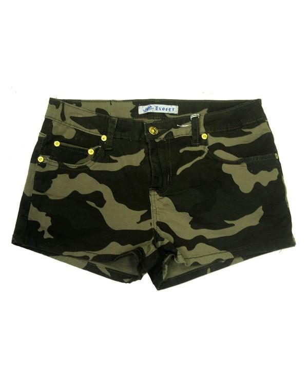 Exocet Womens Camouflage Shorts Sizes