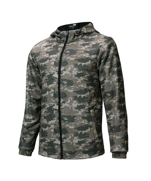 Hoodie Sleeve Lightweight Full Zip Pockets