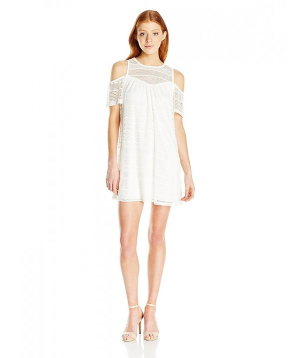 Speechless Juniors Shoulder Shift Dress
