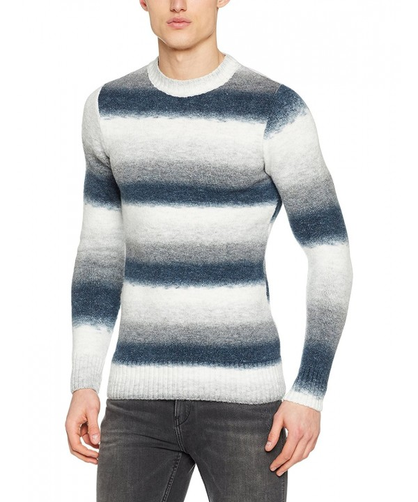 Leif Nelson Knitted Pullover Sweater