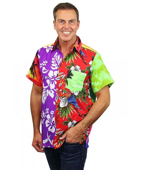Funky Hawaiian Shirt Mondy multicoloured