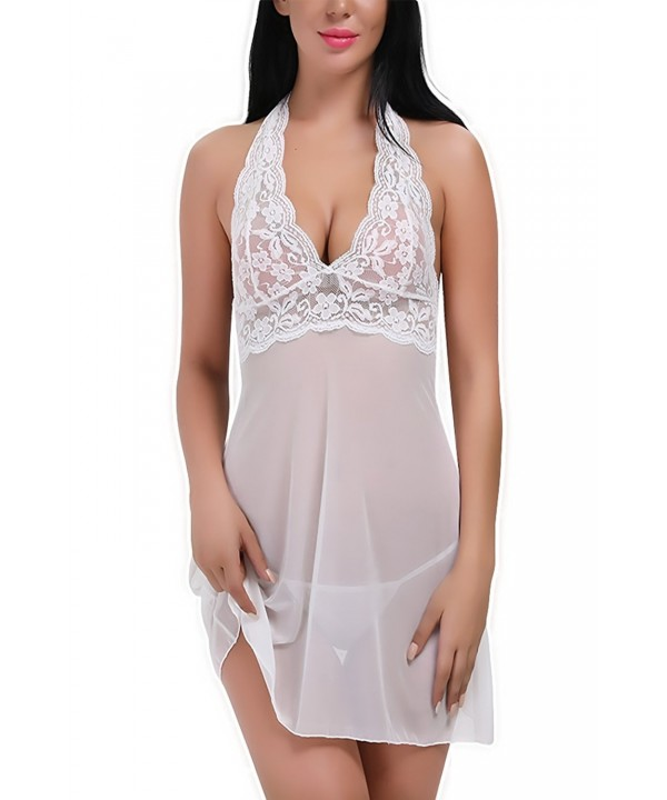 PARTY LADY Transparent Sleepwear Nightwear