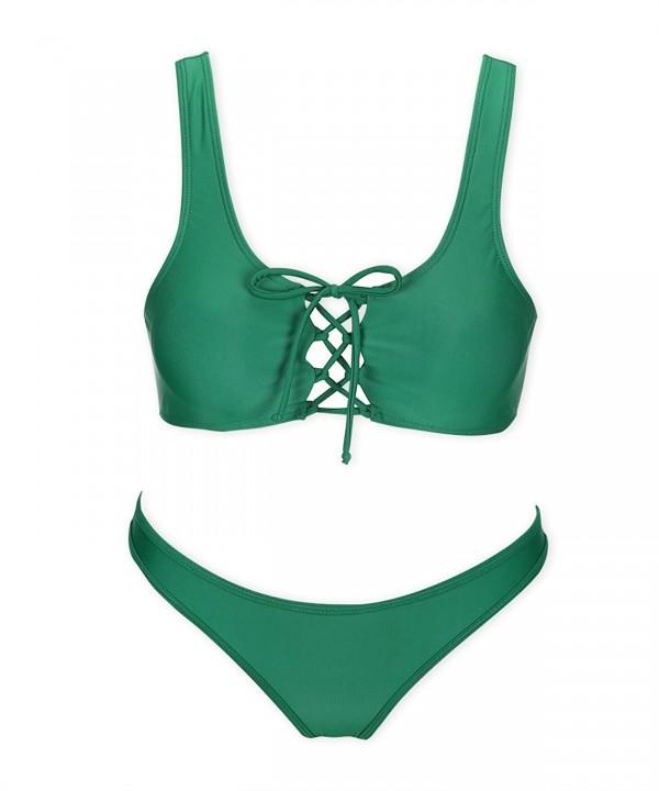 COSPOT Sport Bikini Swimsuit Green