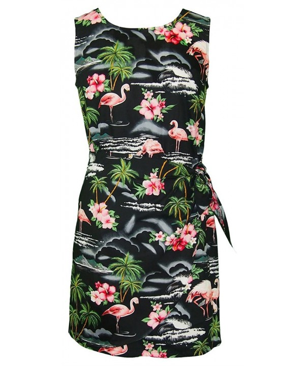 RJC Womens Flamingo Paradise Hawaiian