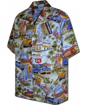 Route Scenic Shirts Blue 410 3644