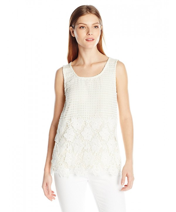Allison Brittney Womens Crochet Medium