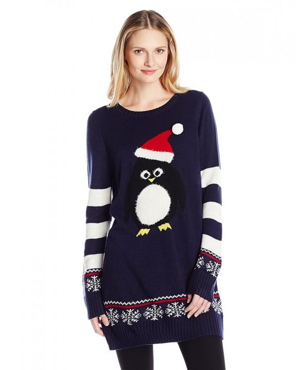 Blizzard Bay Penguin Christmas Sweater