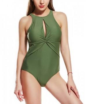 Upopby Swimsuits Backless Monokini Swimwear
