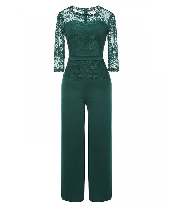 LSAME Elegant Playsuit Cocktail Jumpsuit