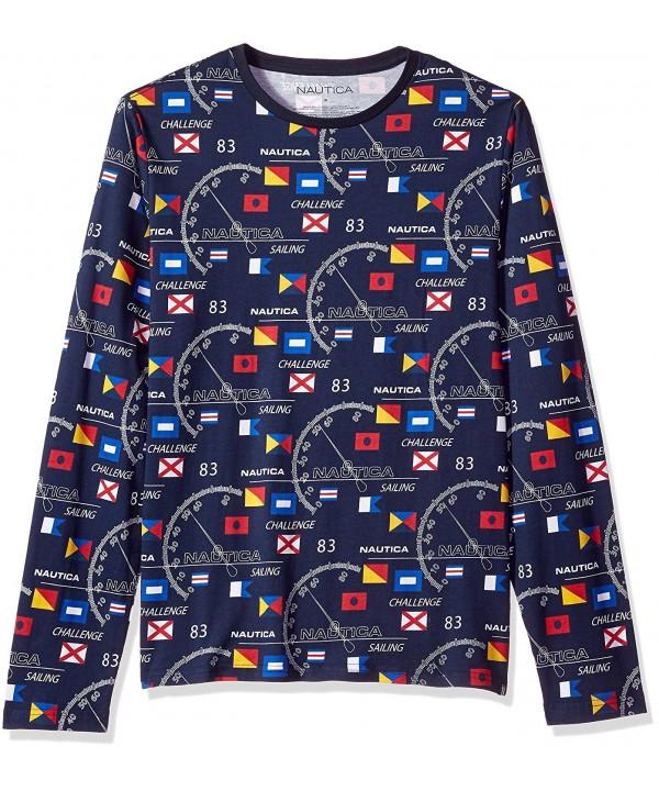 Nautica Graphic Sleeve T Shirt X Large