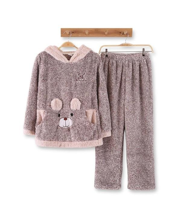 HaloVa Pajamas Flannel Sleepwear Multicoloured