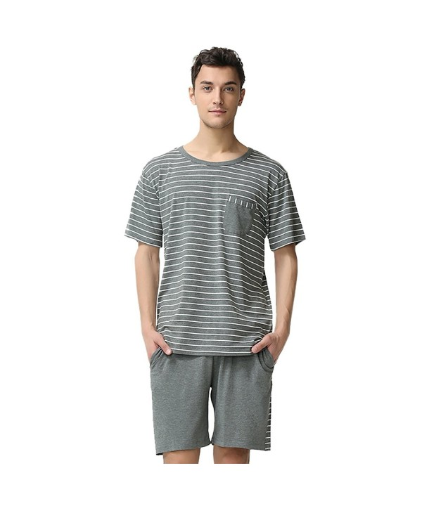 Suntasty Summer Sleepwear Striped Sleeve