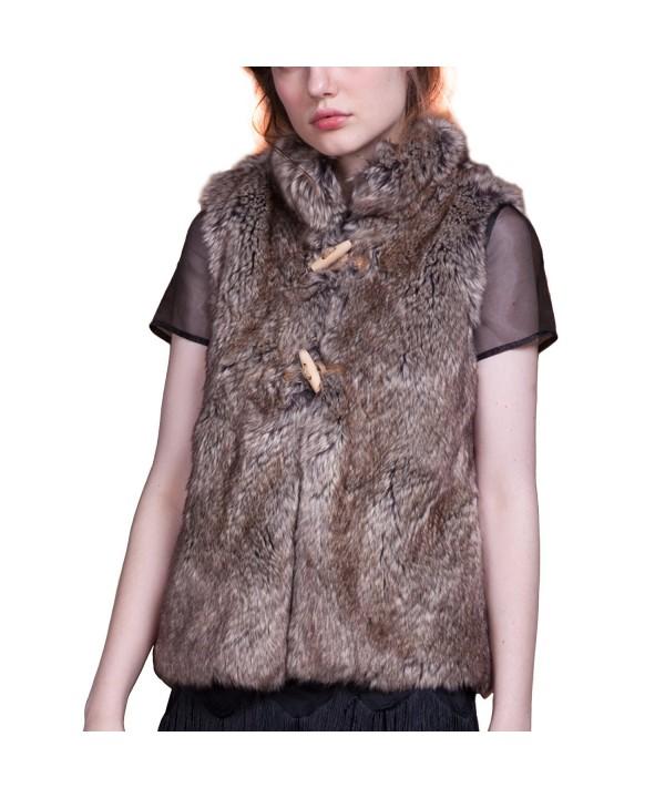CIVETTUOLA Womens Fashion Sleeveless Waistcoat