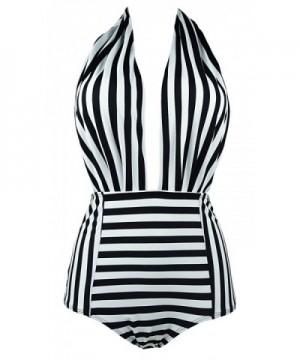 COCOSHIP Backless Swimsuit Swimwear Monokini
