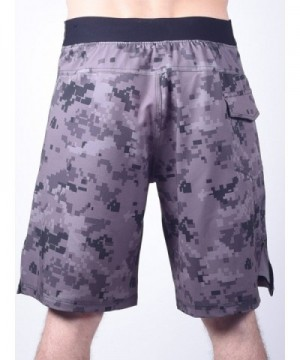 WOD Shorts for Men Agility 4 0 - No Velcro Closure - Digital Camo -  C7129XJDL2T