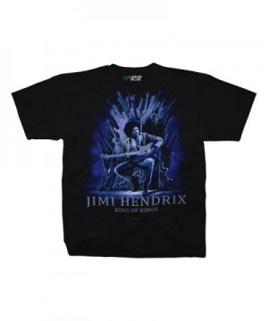 Jimi Hendrix Guitar Adult T Shirt
