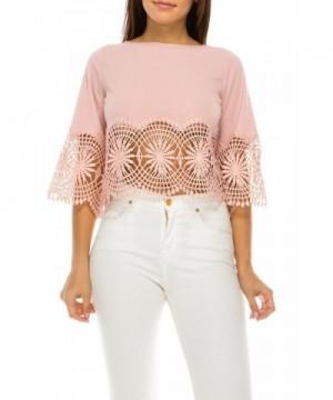 StyleEvery1 Casual Sleeve Crochet Summer
