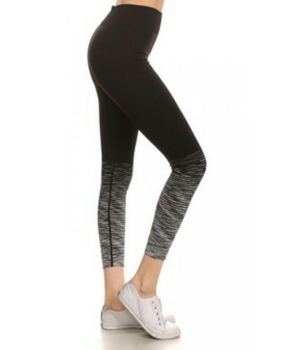 compression athletic leggings assorted charcoal