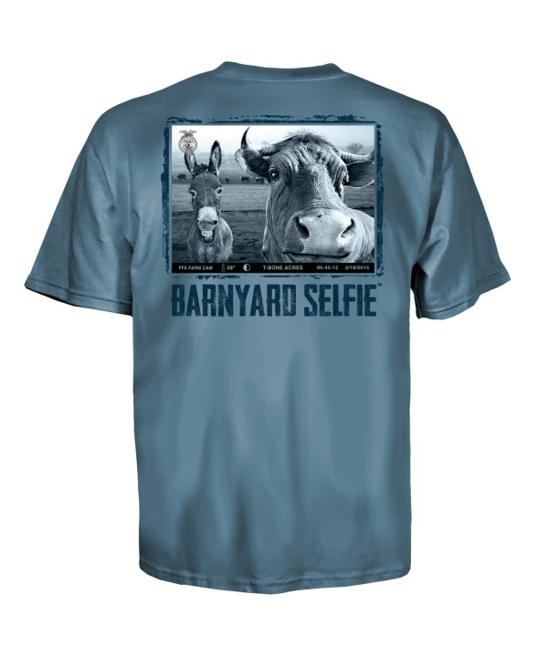 Uware Barnyard Selfie T Bone Shirt