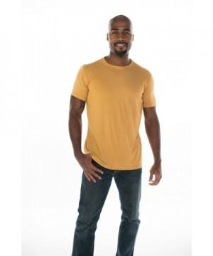 ONNO Mens Bamboo T Shirt Mustard