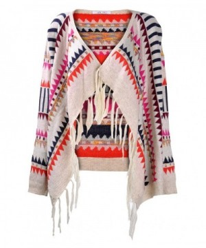ZLYC Vintage Fashion Knitted Cardigan