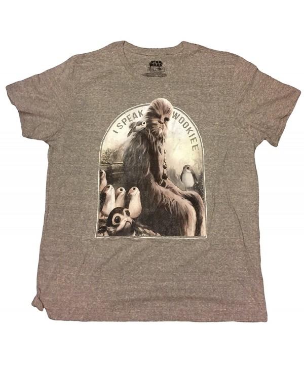 Star Chewbacca Speak Wookiee t Shirt