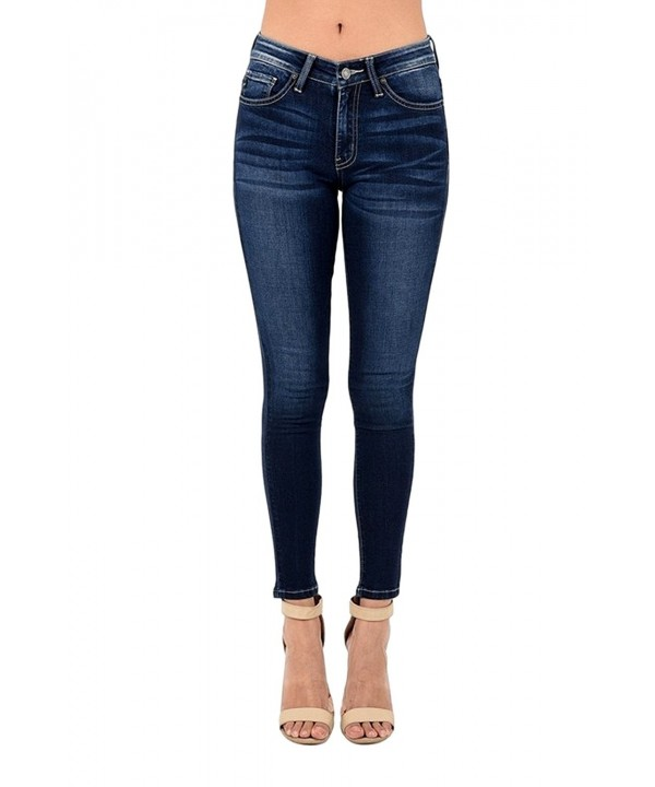 KAN CAN Womens Skinny KC7085DH