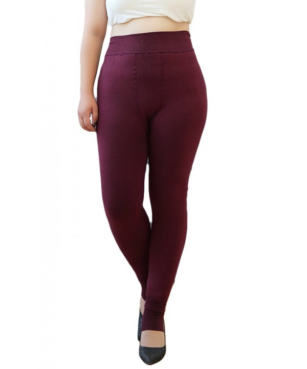 Womens Thermal Leggings Stirrupped Regular