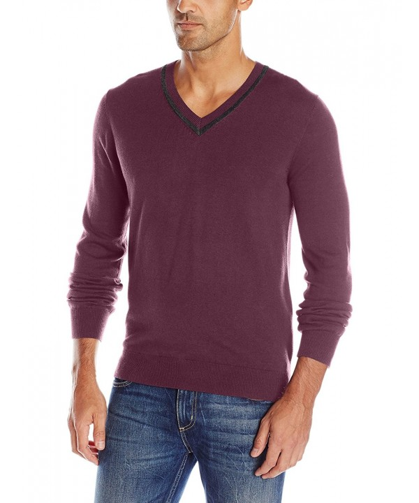 AXIST Sleeve V Neck Sweater Tasting