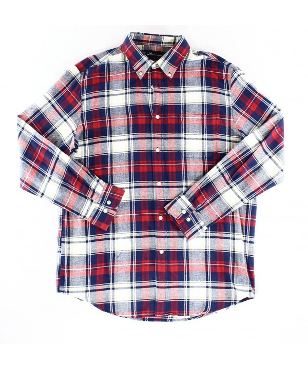 John Ashford Meridian Flannel Button Down