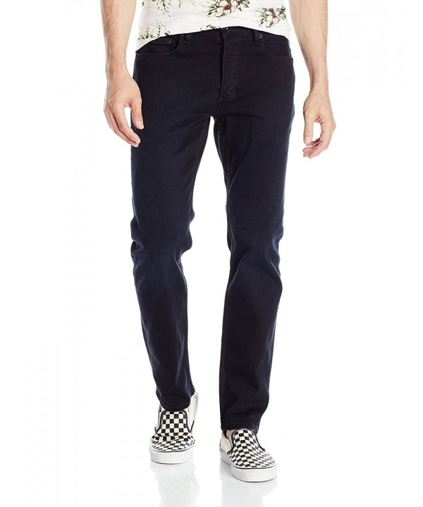 RVCA Mens Stay Black Sanded