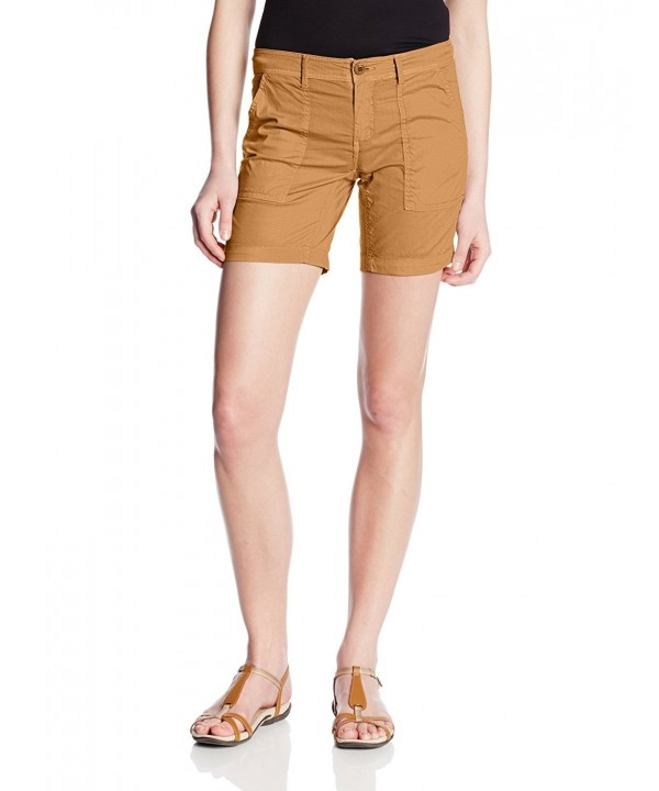 Gramicci Womens Shorts Honey Mustard