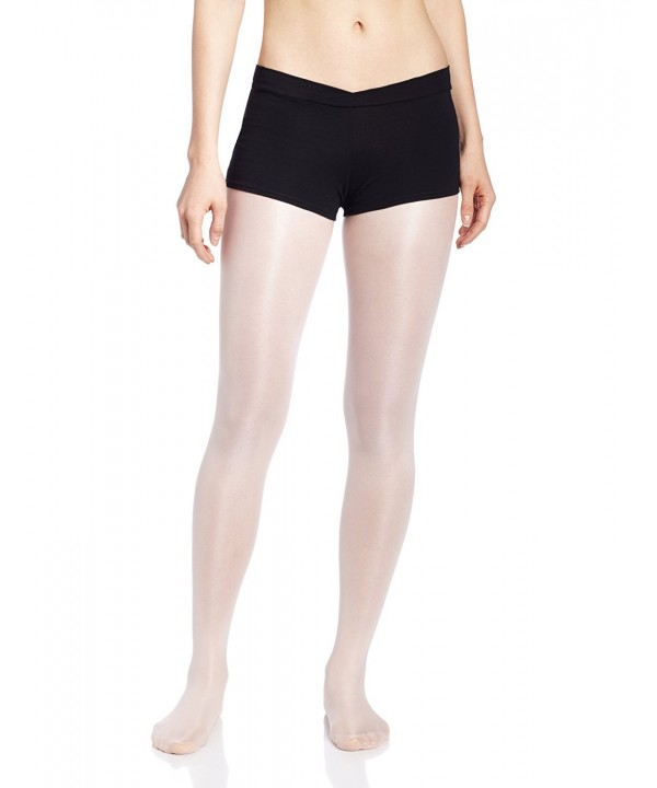 Capezio Womens V Front Short Black