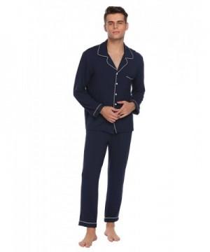 Ekouaer Sleepwear Sleeve Pajama Large