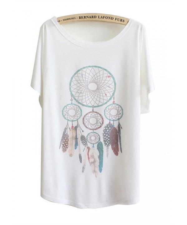 Luna Margarita T Shirt Pendant Feather