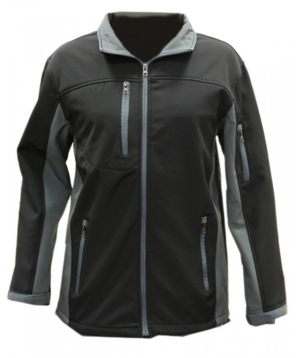 i5 Fleece Insulated Softshell Charcoal