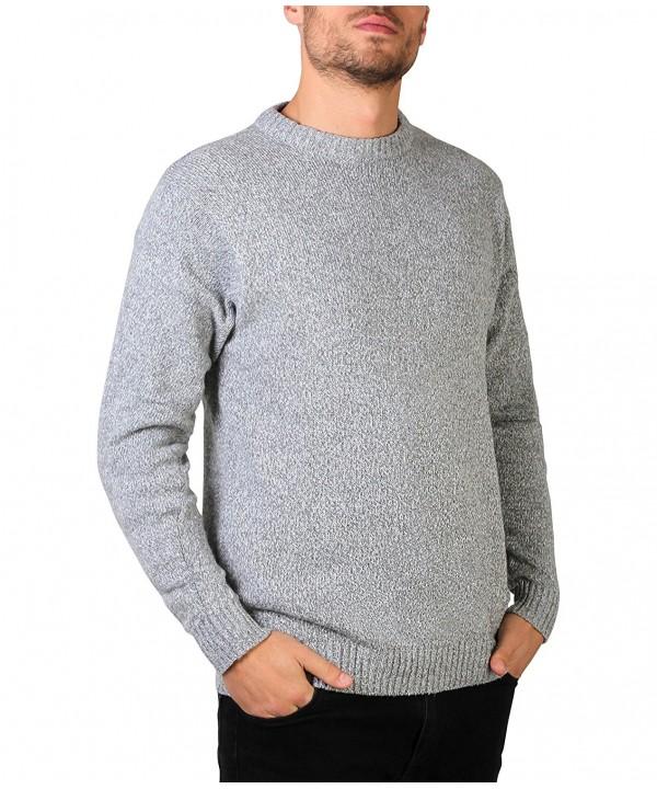 KRISP U7789 GRY L 1 Mens Sweater 7789 GRY L