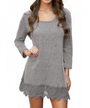 POZON Womens Basic Sleeve Shirt