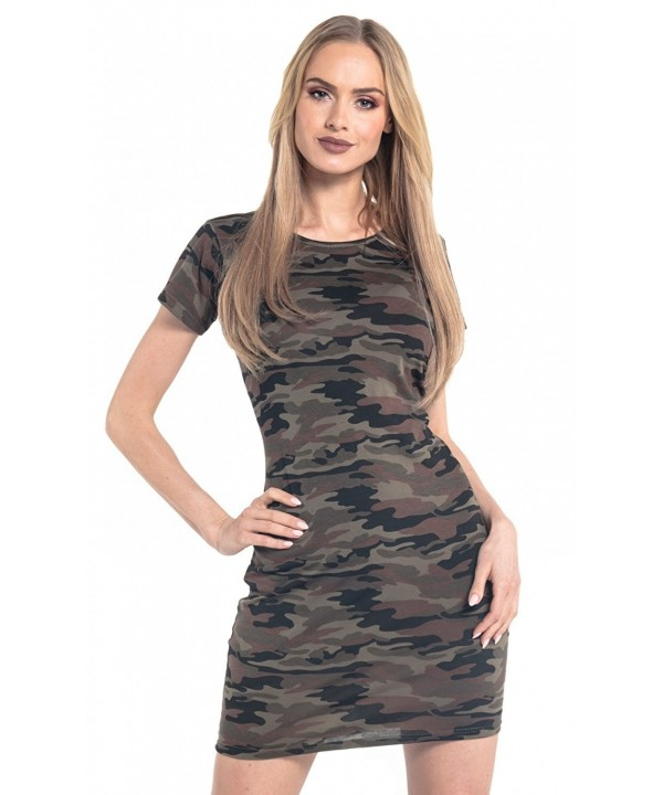 Glamour Empire Pattern Sleeves Camouflage