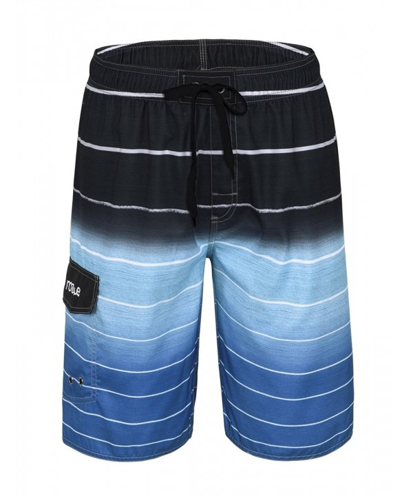 Nonwe Beachwear Quick Striped Trunks