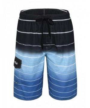 Nonwe Beachwear Quick Striped Trunks